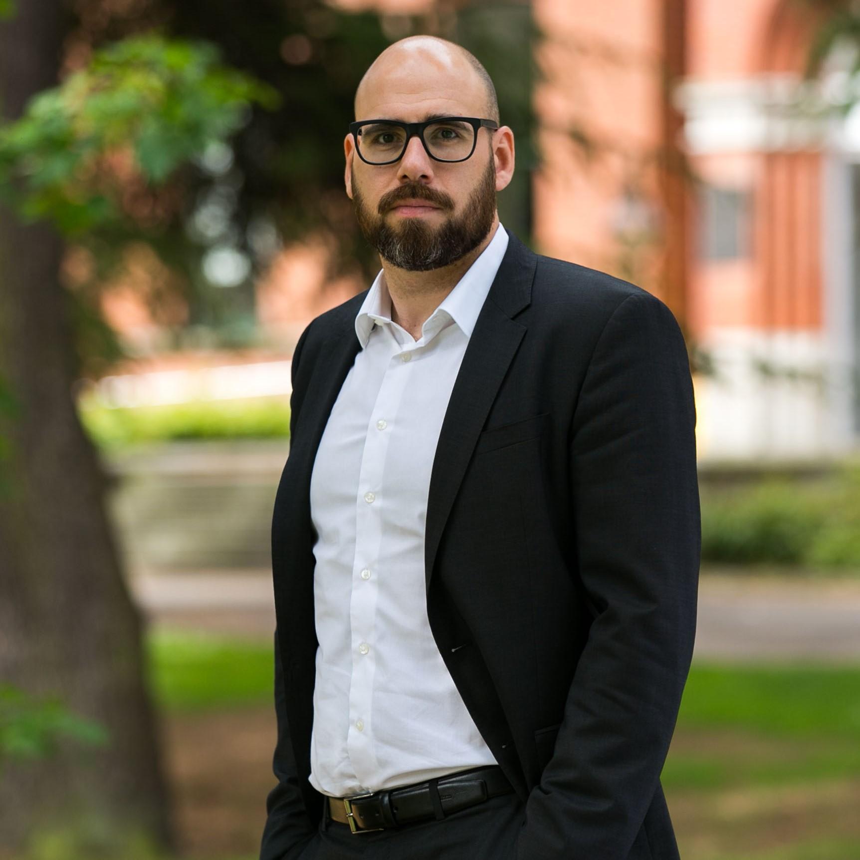 Associate Professor Marius Claudy
